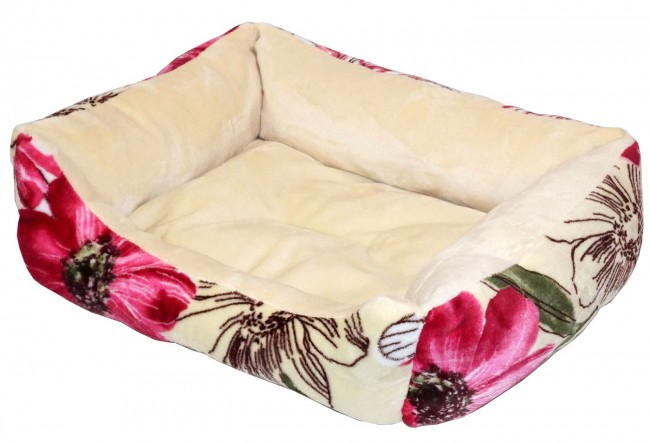 Dog Bed Red Color