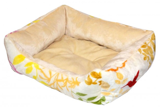 Dog Bed Yellow Color