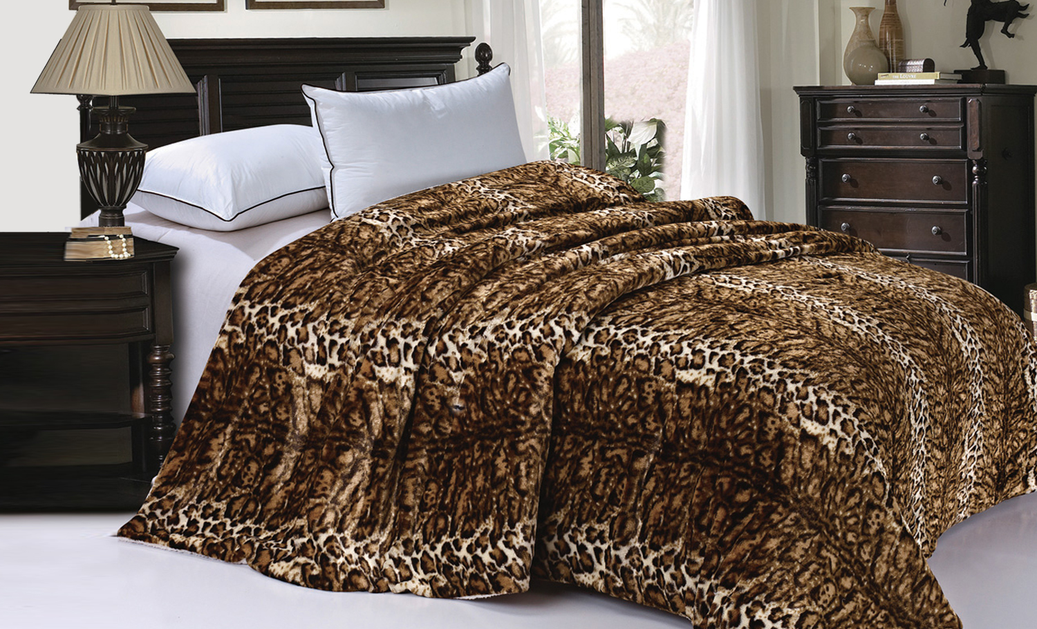 The Ultimate Animal Faux Fur blanket