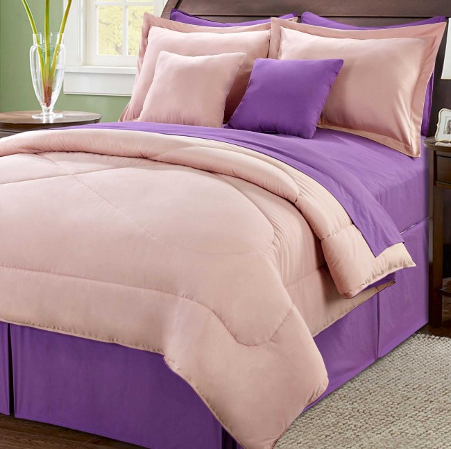 10 Piece Comforter Set from BNF Home.