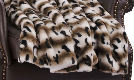 Amara Faux Fur Sherpa Blanket by BOON Throw & Blanket
